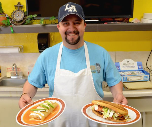 towering tacos downtown taqueria offers authentic mexican food rh siouxcityjournal com