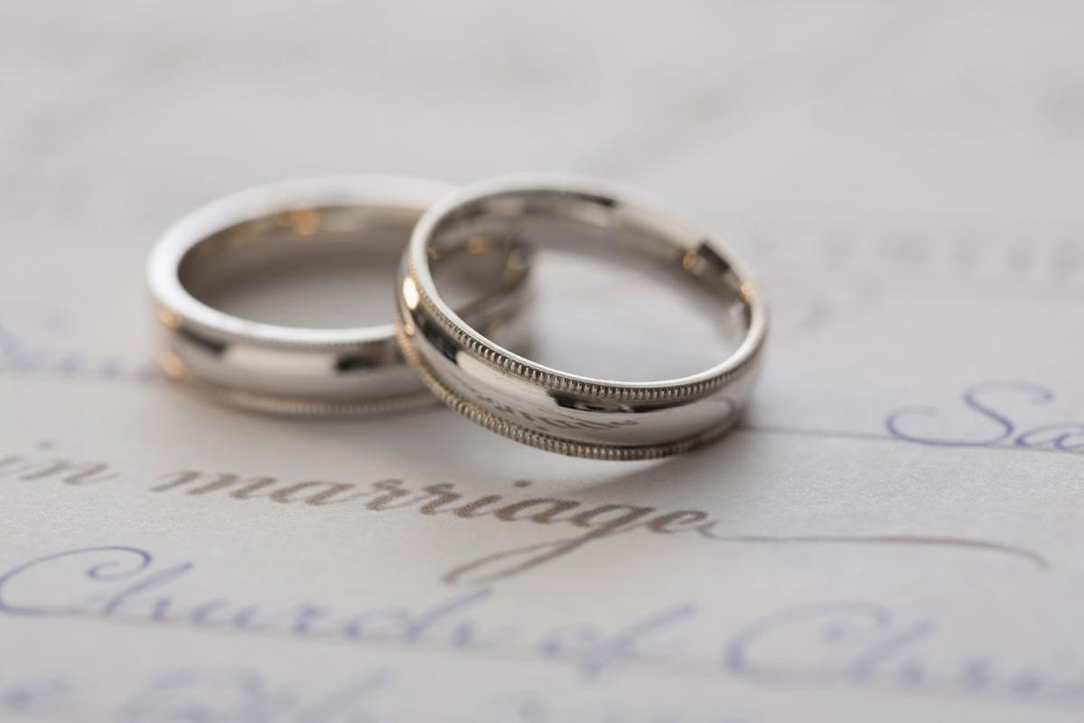 Marriage certificate - rings