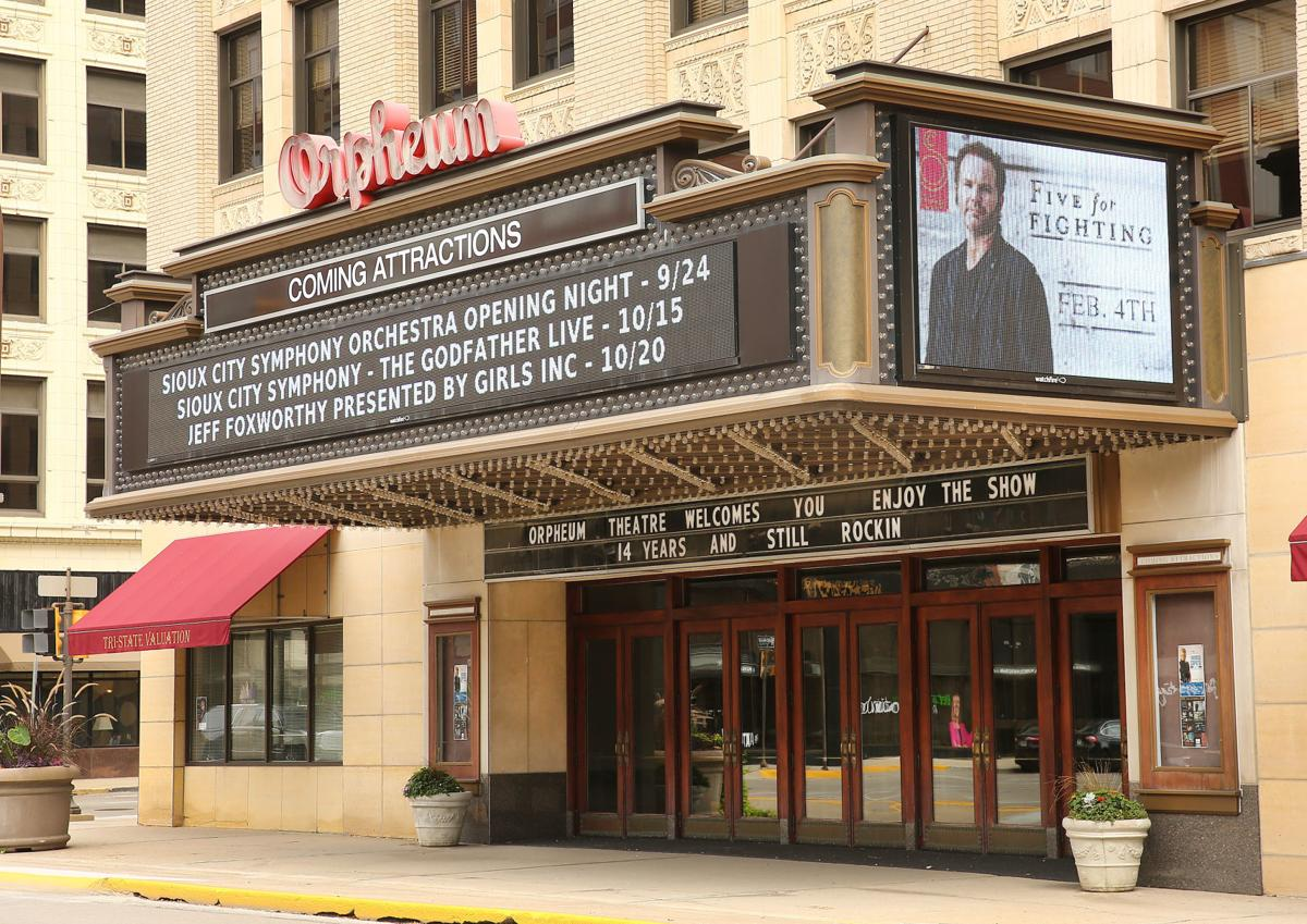 Orpheum Theatre exterior
