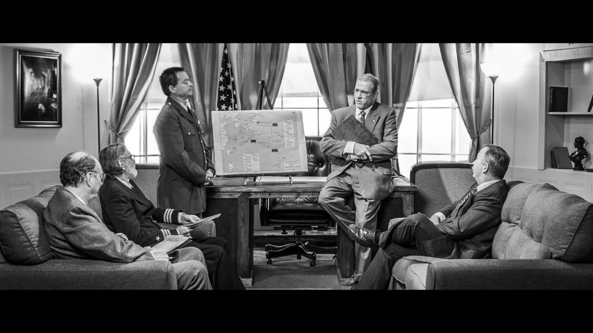 Truman Decision Oval Office Scene