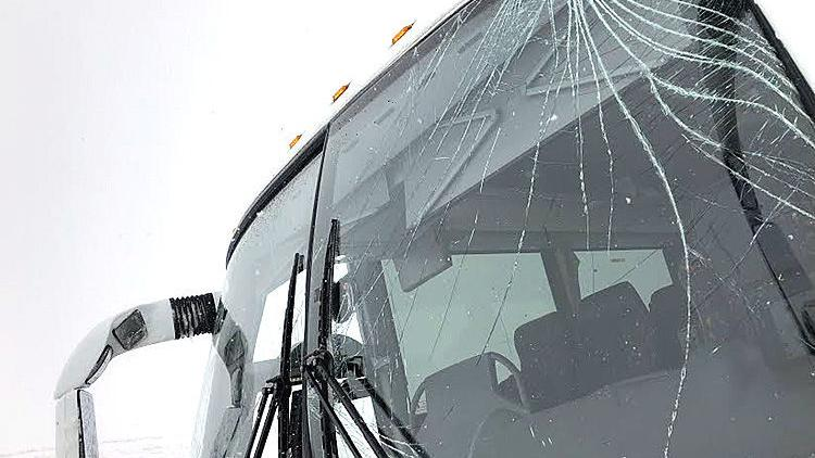 Valley City basketball team suffers snowy bus mishap on way to NAIA tourney in Sioux City