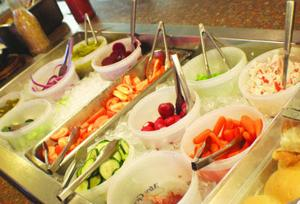 Refreshing Salad Bar!