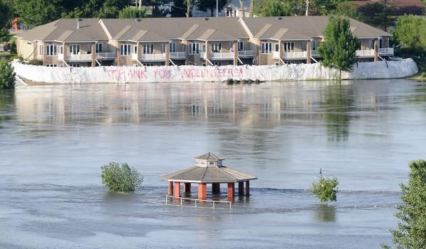 Flooding Sioux City 0608 AM