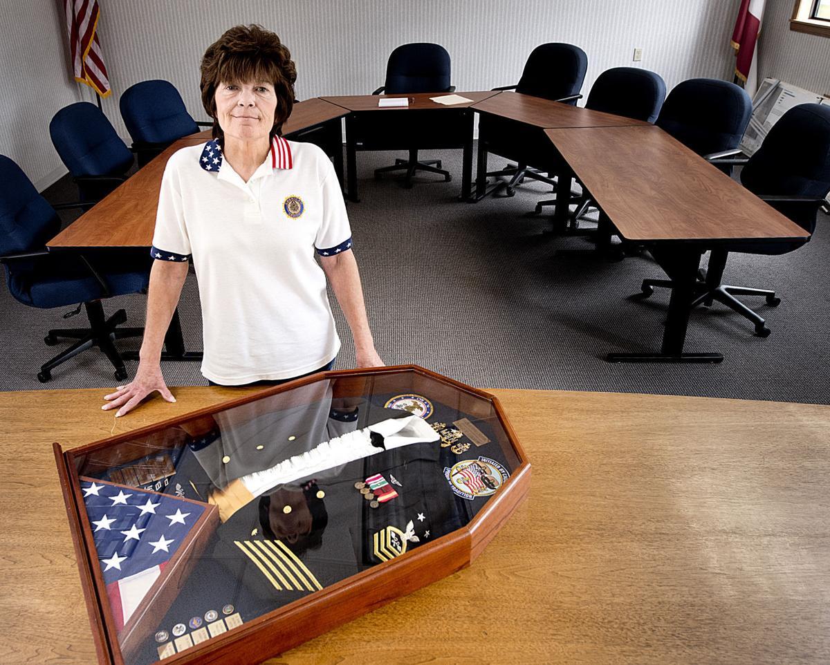 Female Veteran Donna Shaw
