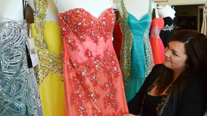 Prom 2014 dresses at 6 South Designs | | siouxcityjournal.com