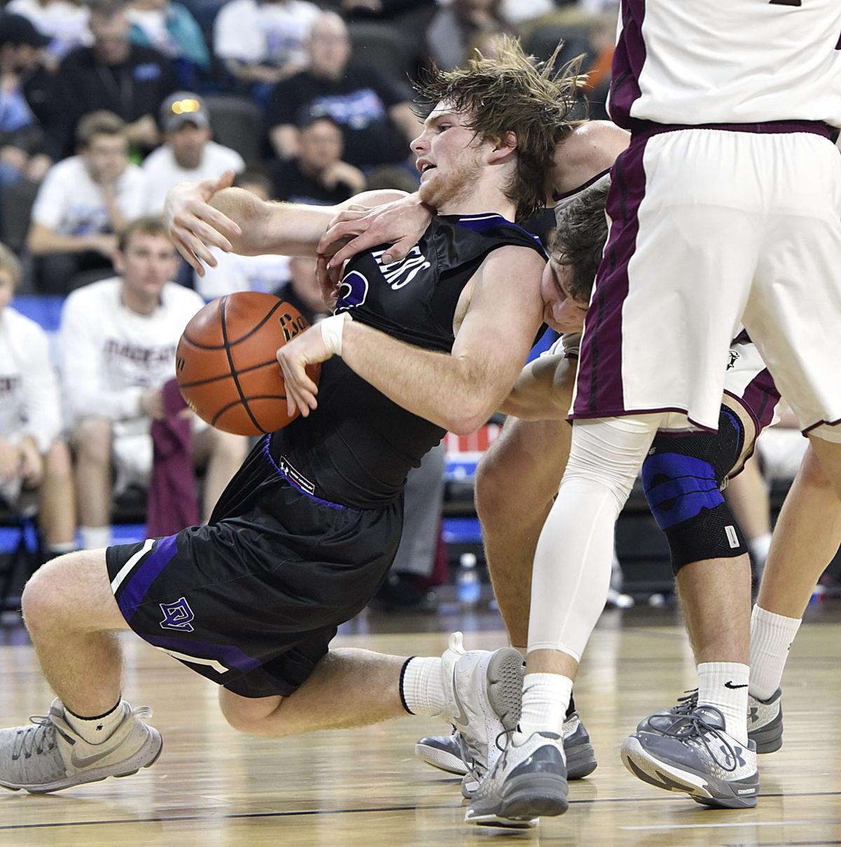 Dakota Valley vs Madison state basketball