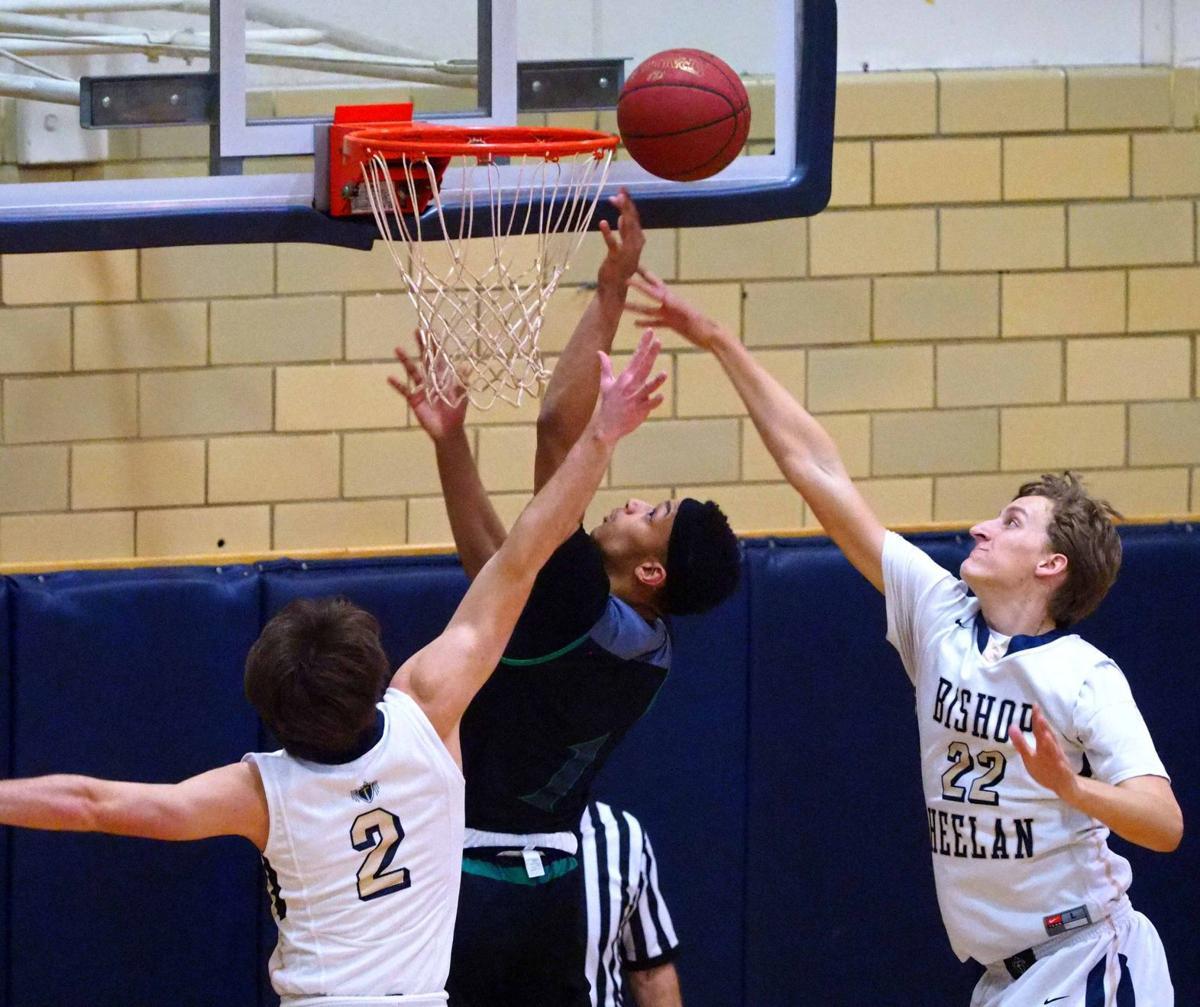 West High at Heelan basketball