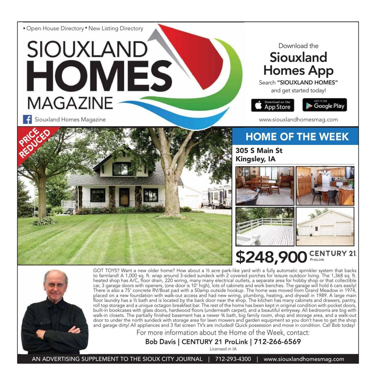 Siouxland Homes - November 21, 2020