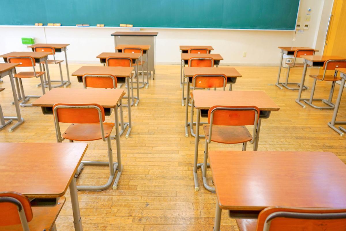 Stock education classroom desks