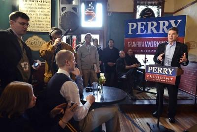 Rick Perry Cherokee campaign 12-16-11