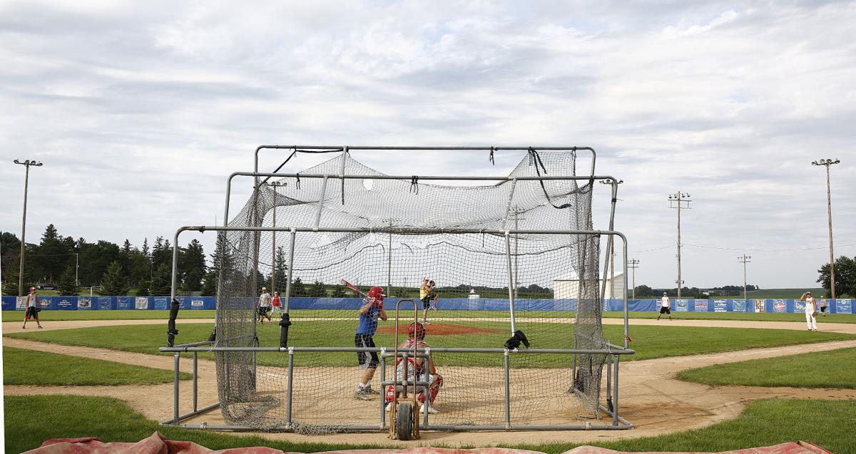 West Sioux baseball practice
