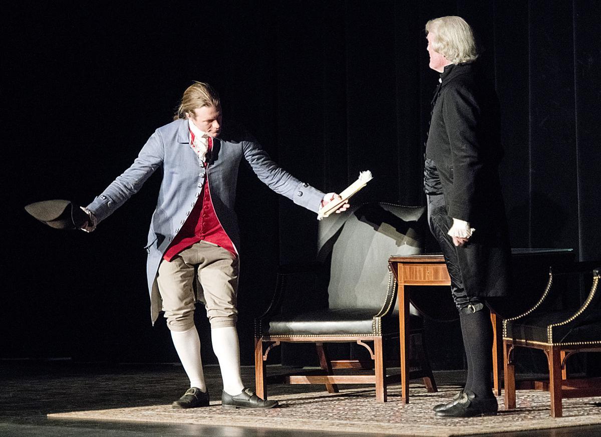 Thomas Jefferson re-enactors