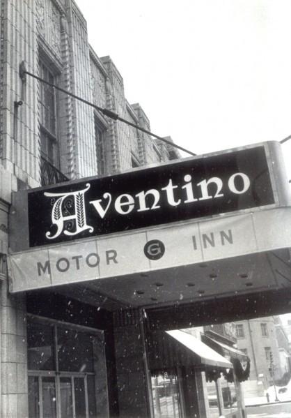 Aventino hotel, 1972
