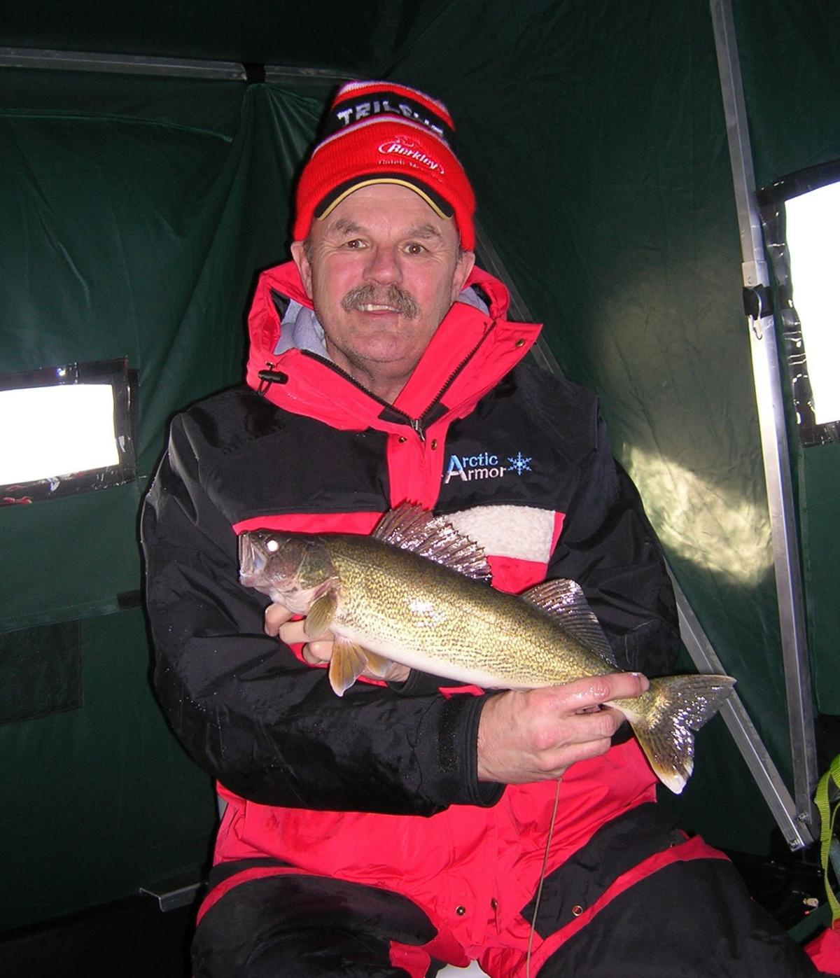 Ice Fishing Walleye