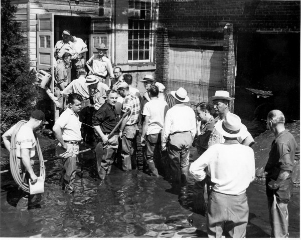Floyd Flood 1953 at Wincharger Corp.