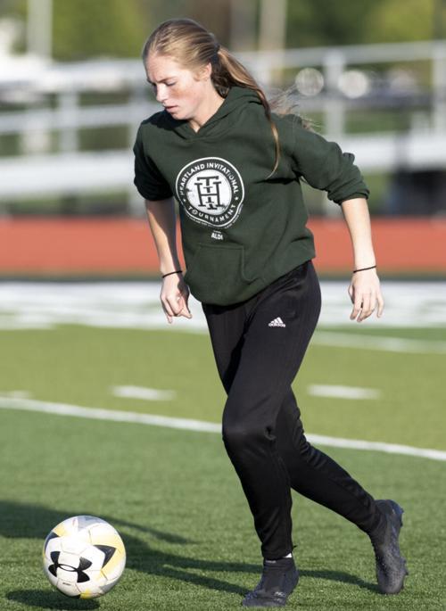 Goalkeeper Ivey Winckler