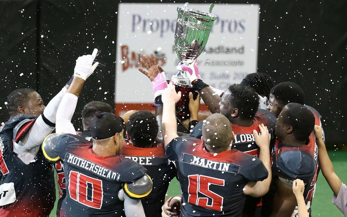 Bandits football vs Texas Revolution 2015 CIF Championship