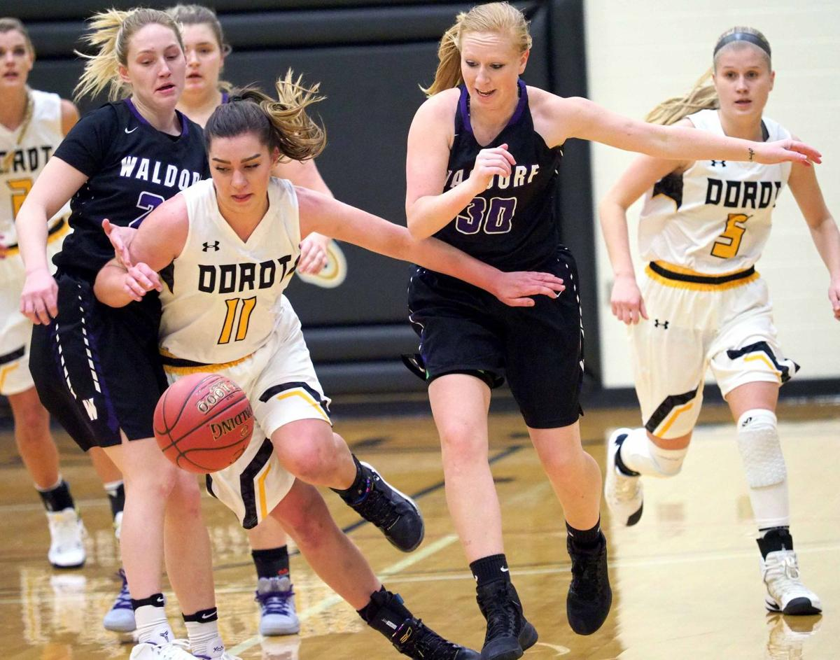 Waldorf at Dordt basketball