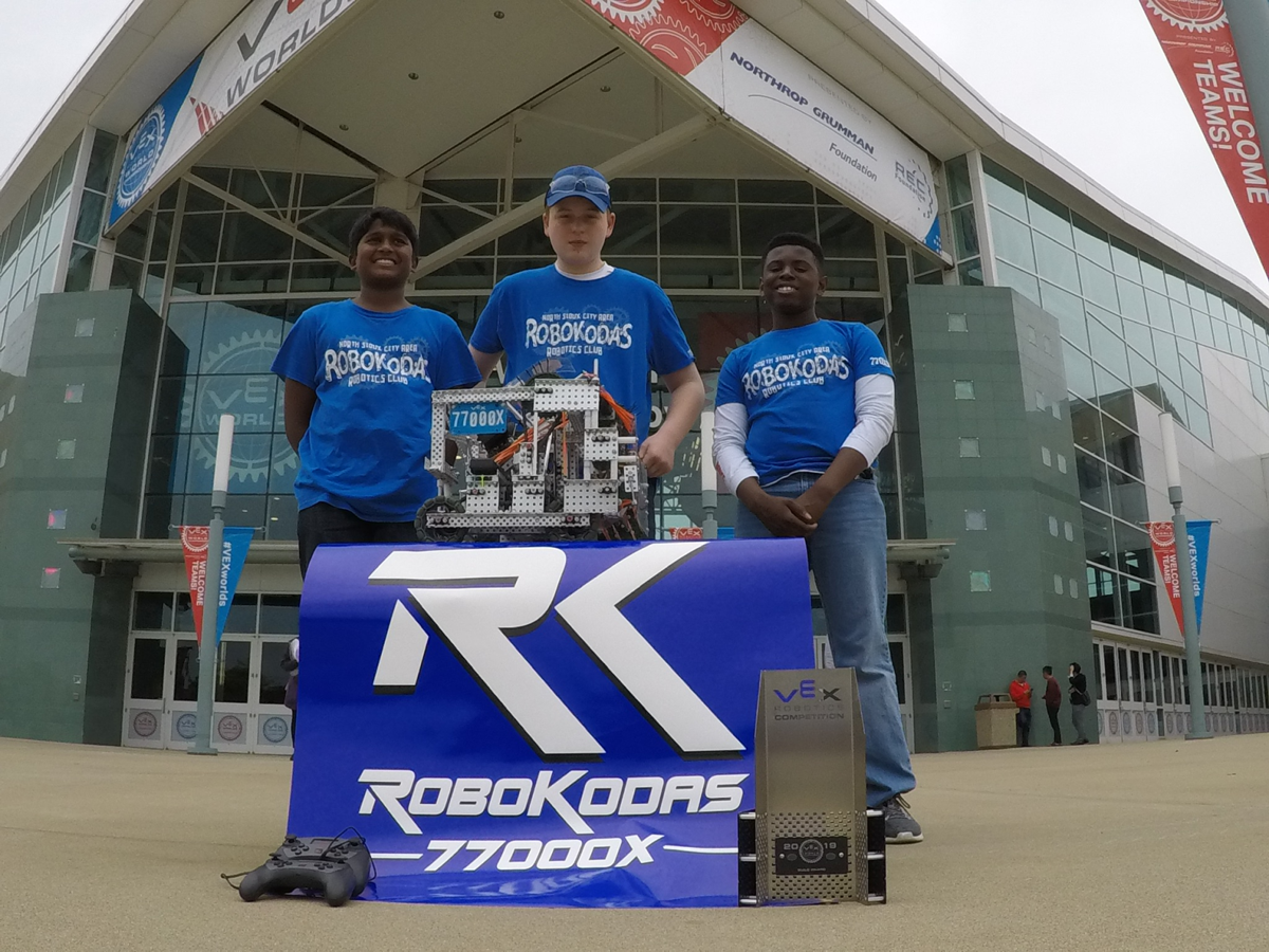 RoboKodas at Worlds competition