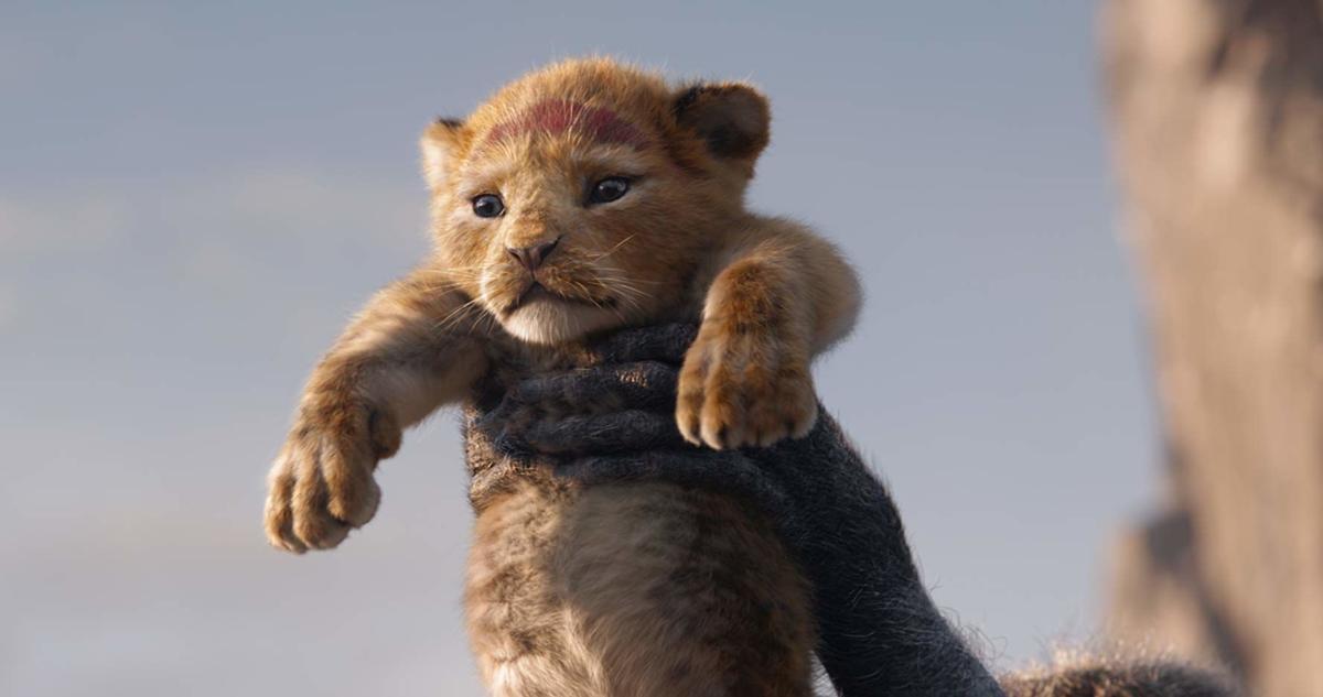 The Lion King scene