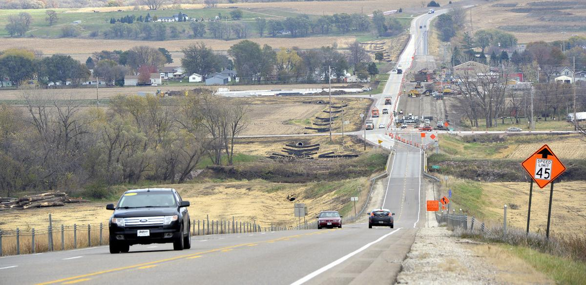 Highway 20 widening tree removal