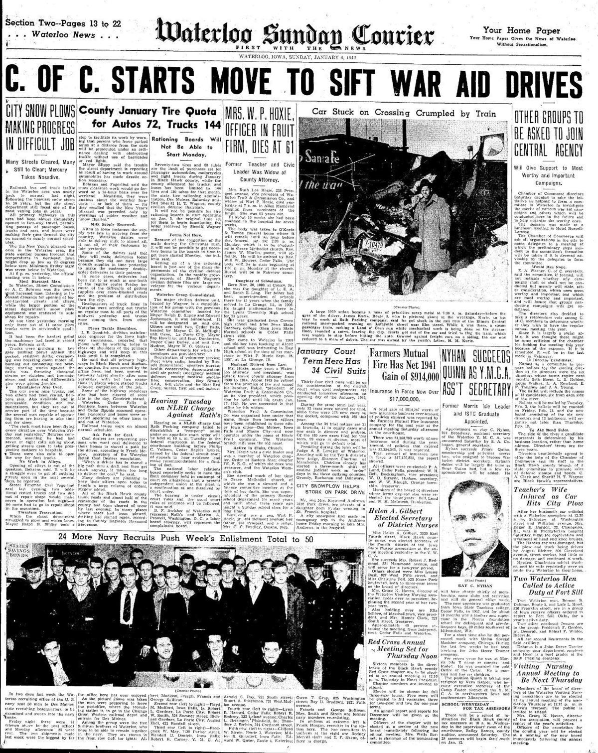 Courier Jan. 4, 1942