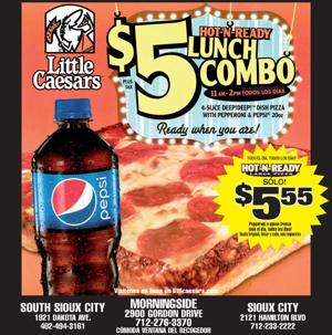 $5 Lunch Combo!