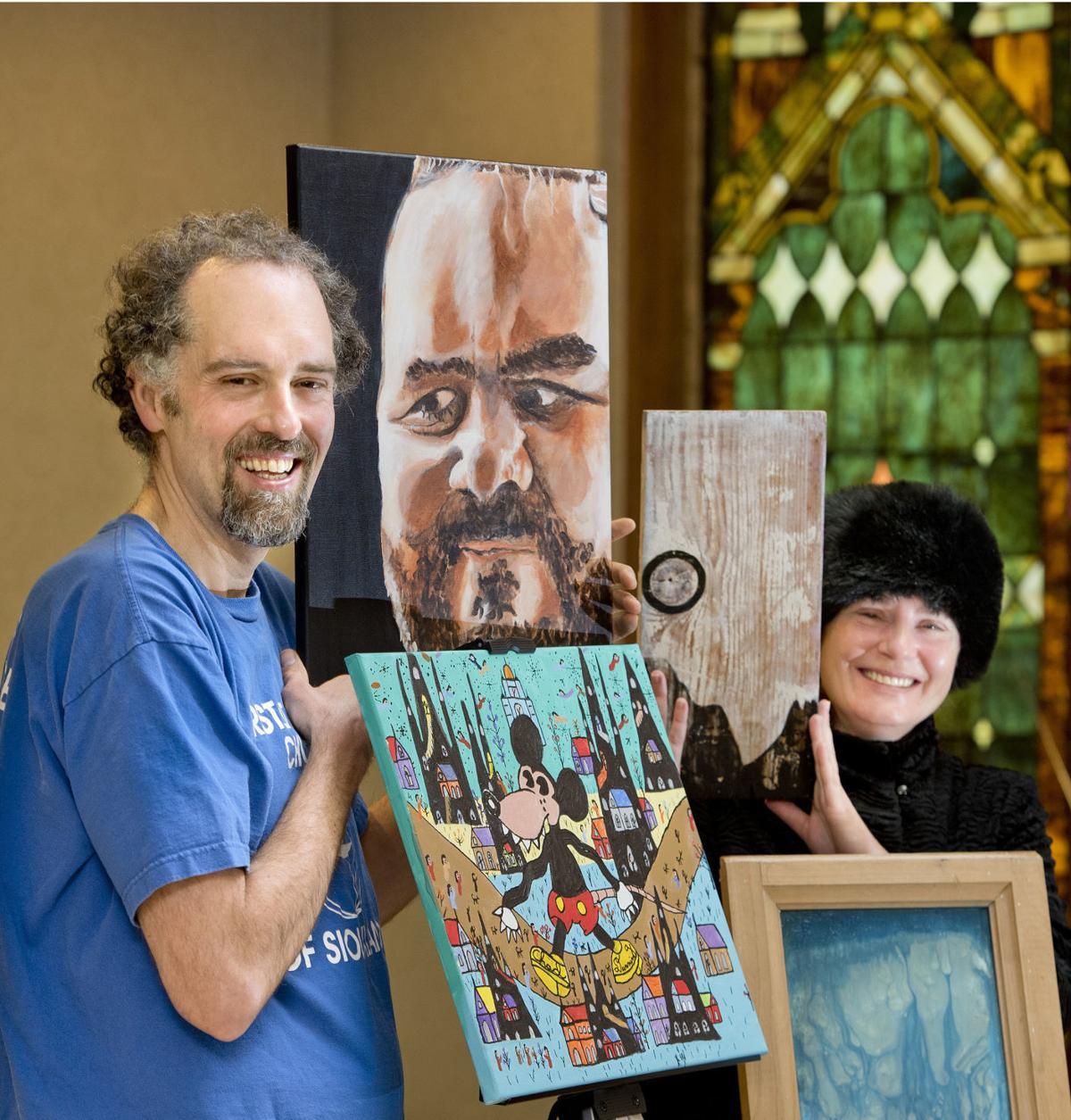 Chad Dunning art show
