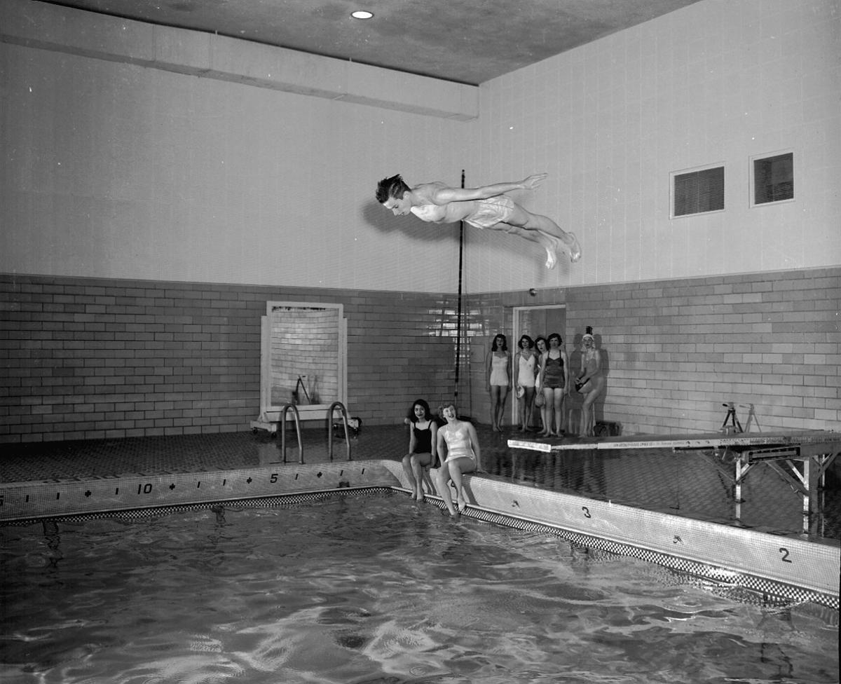 Swimming pool at Central High Annex