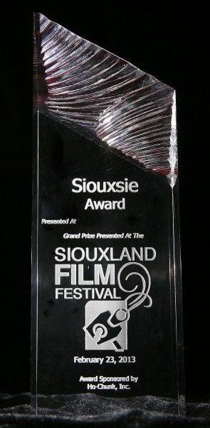 Siouxland Film Fest Siouxsie Award cover