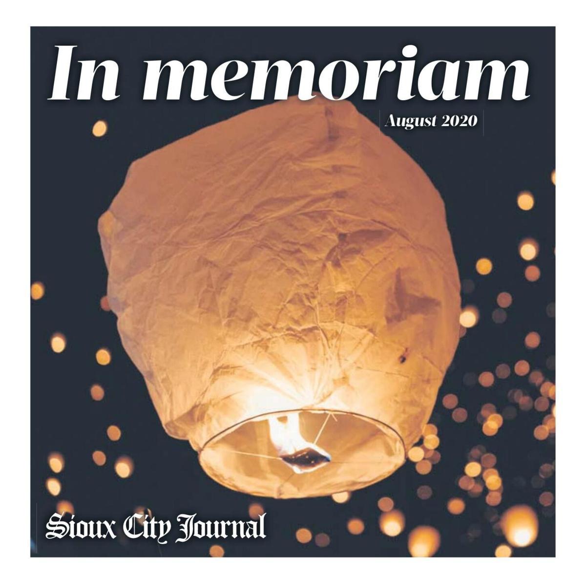 In Memoriam - August 2020