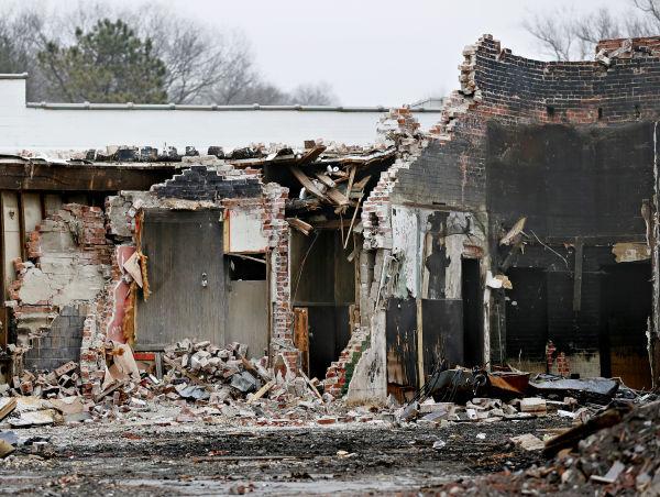 Normandy Building Debris