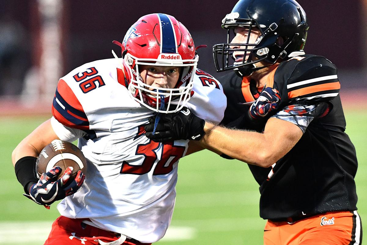 Sioux City North vs Sioux City East football