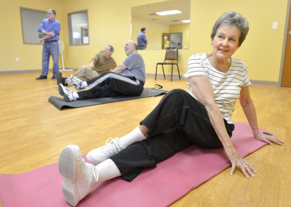 Seniors sexy and fit class
