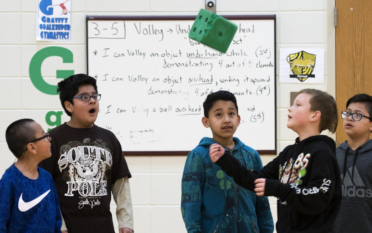 Teaching math and reading in gym class