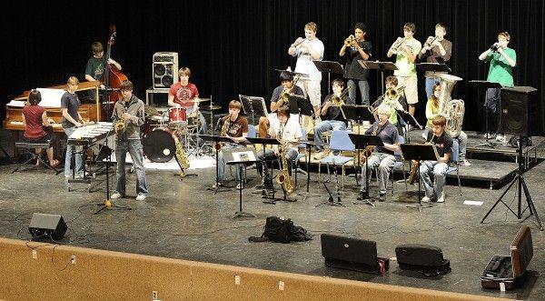 North High School jazz band