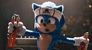 Sonic the Hedgehog scene