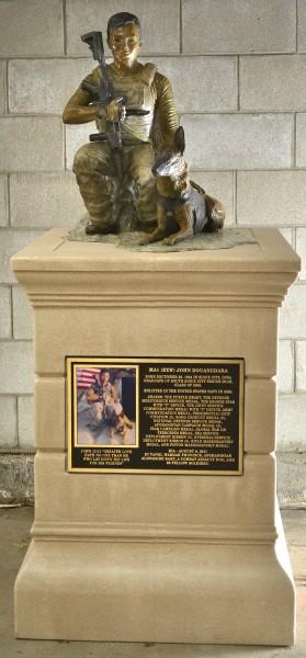 John Douangdara memorial statue
