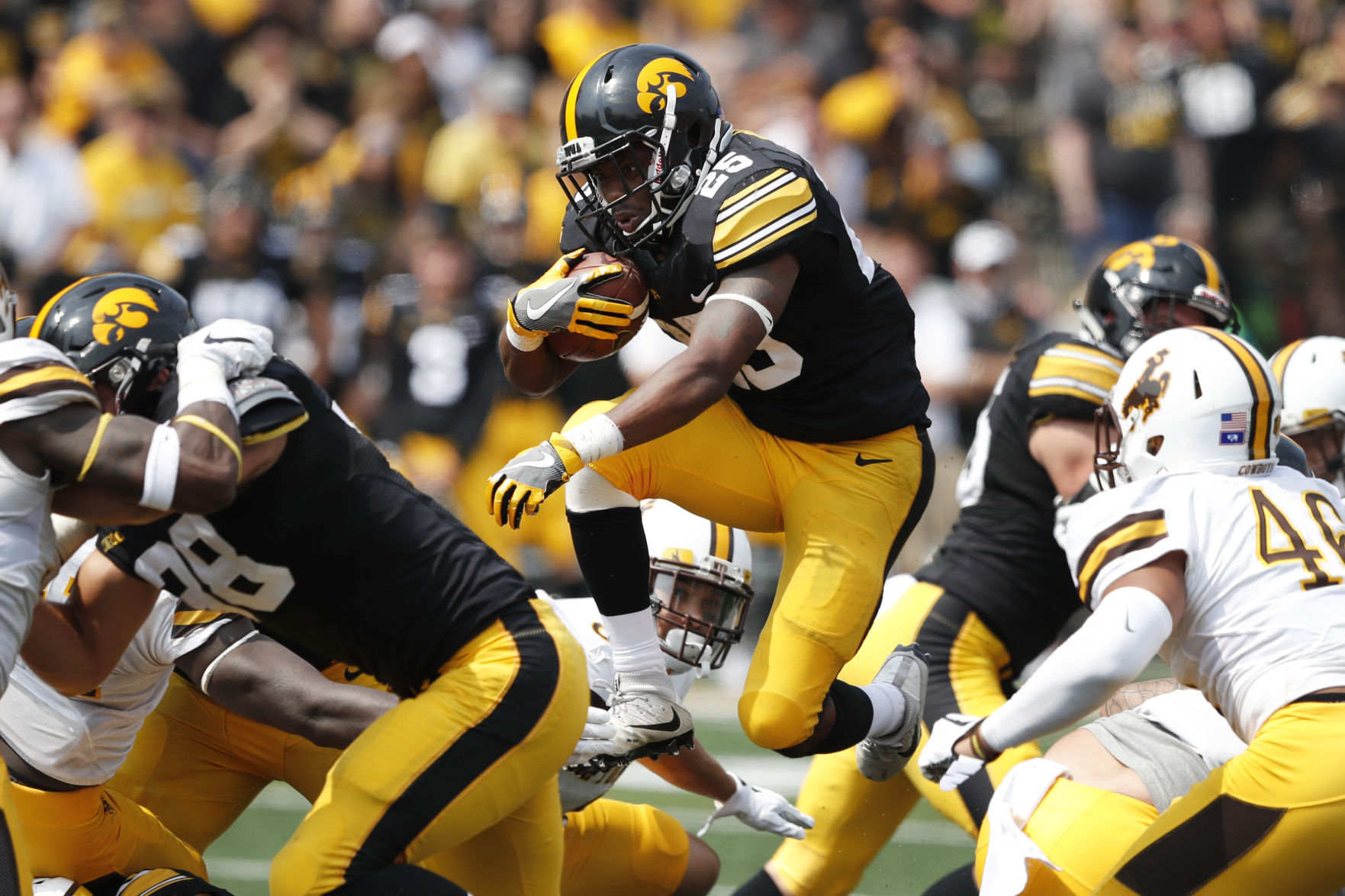 Sluggish offense, missed opportunities cost Wyoming in 24-3 loss at Iowa