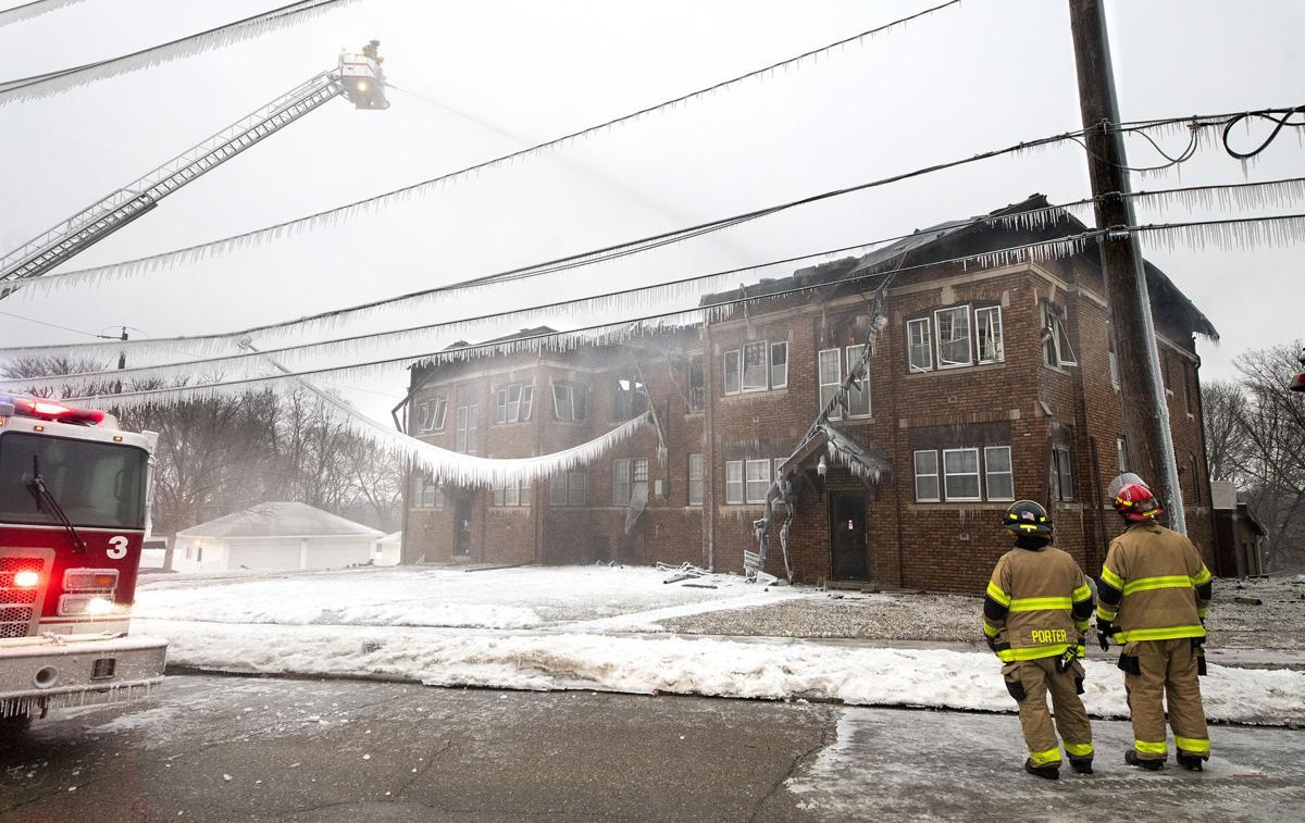 Morningside Avenue apartment fire