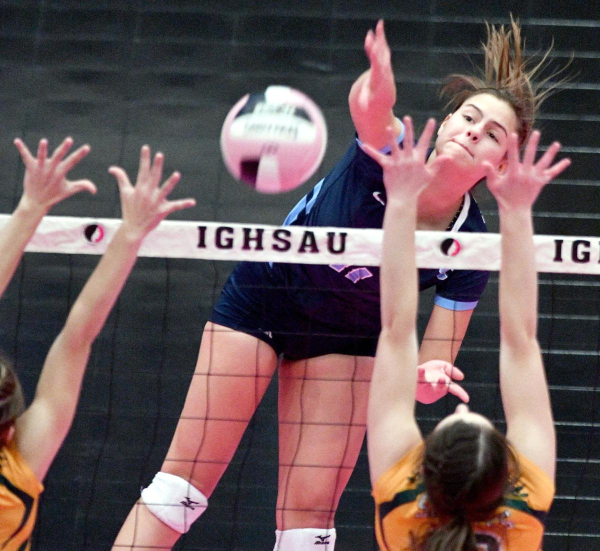Unity Christian vs Council Bluffs St. Albert state volleyball