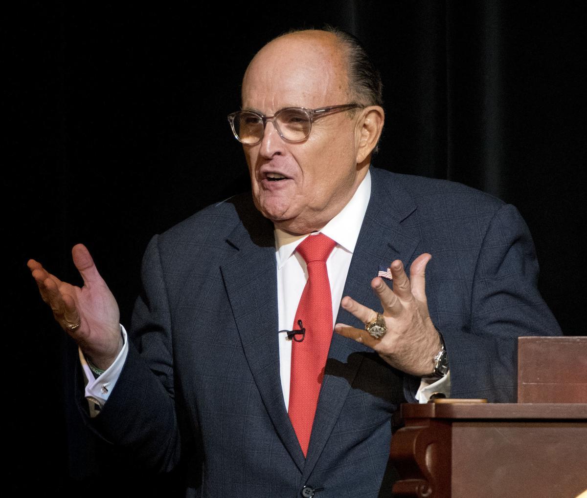 Siouxland Chamber speaker Giuliani