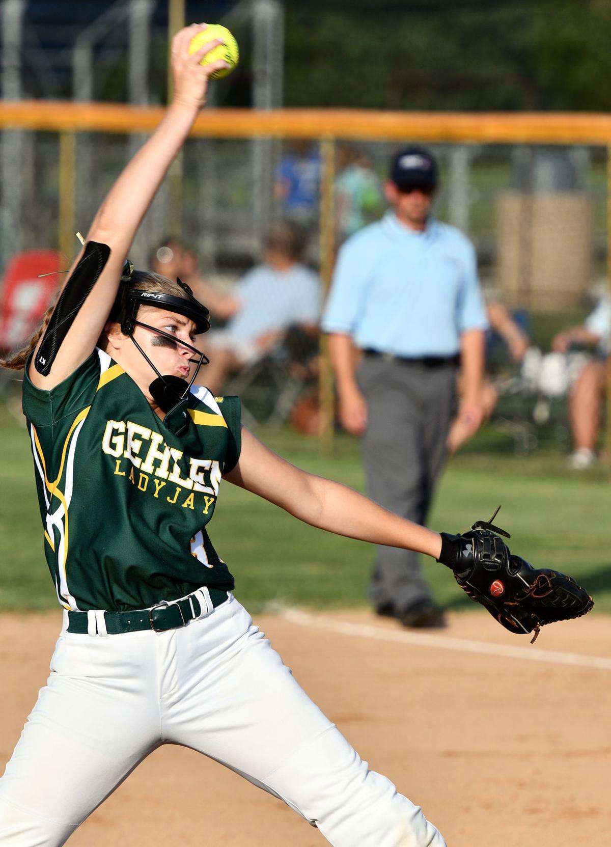 Westwood vs Gehlen Catholic regional softball