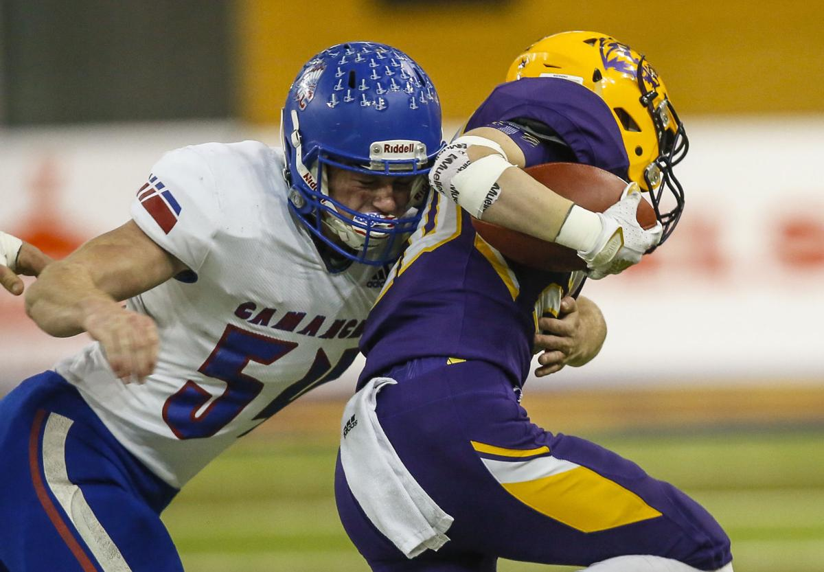 State Football 2A Central Lyon/George-Little Rock vs. Camanche 3