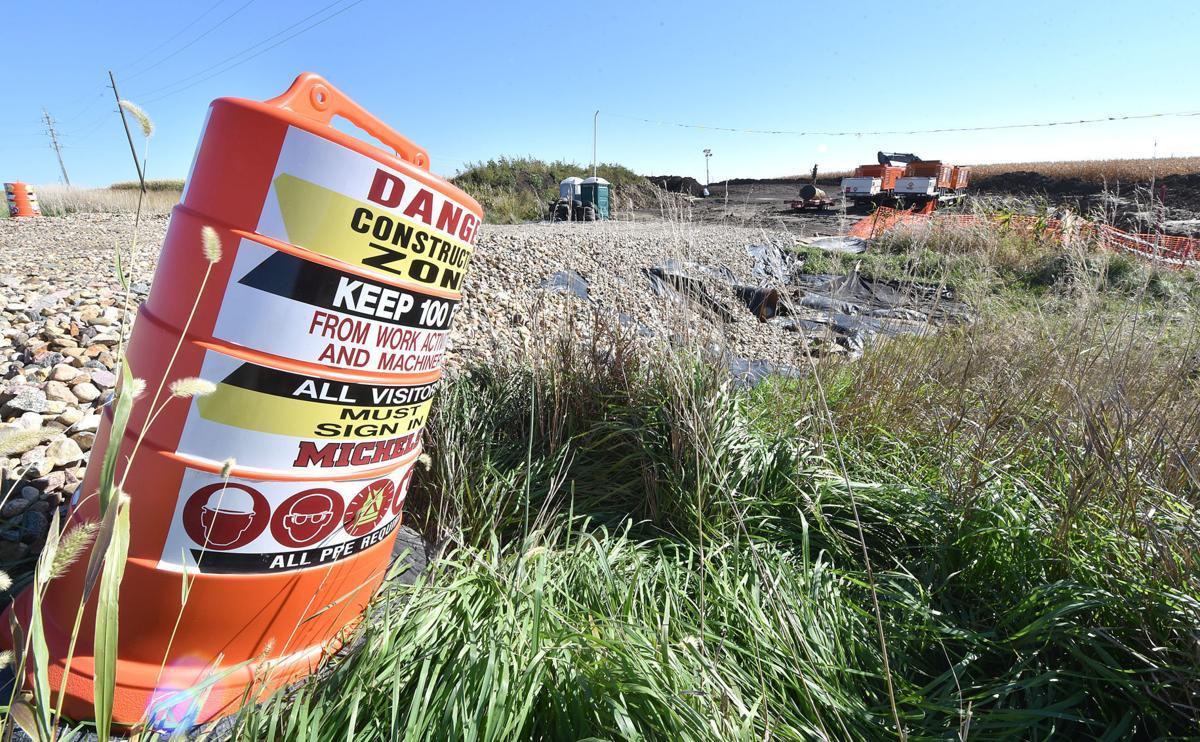 Dakota Access Pipeline construction