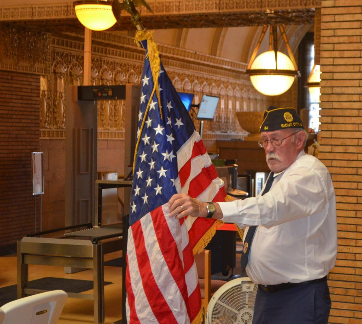 Woodbury County Veterans Day observance