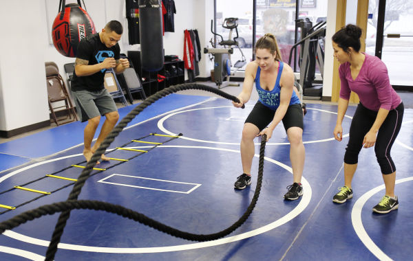 Boot camp at Renegade Sports and Fitness