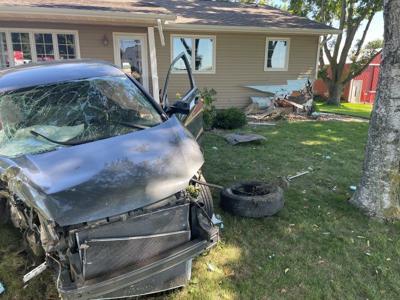 Orange City house crash
