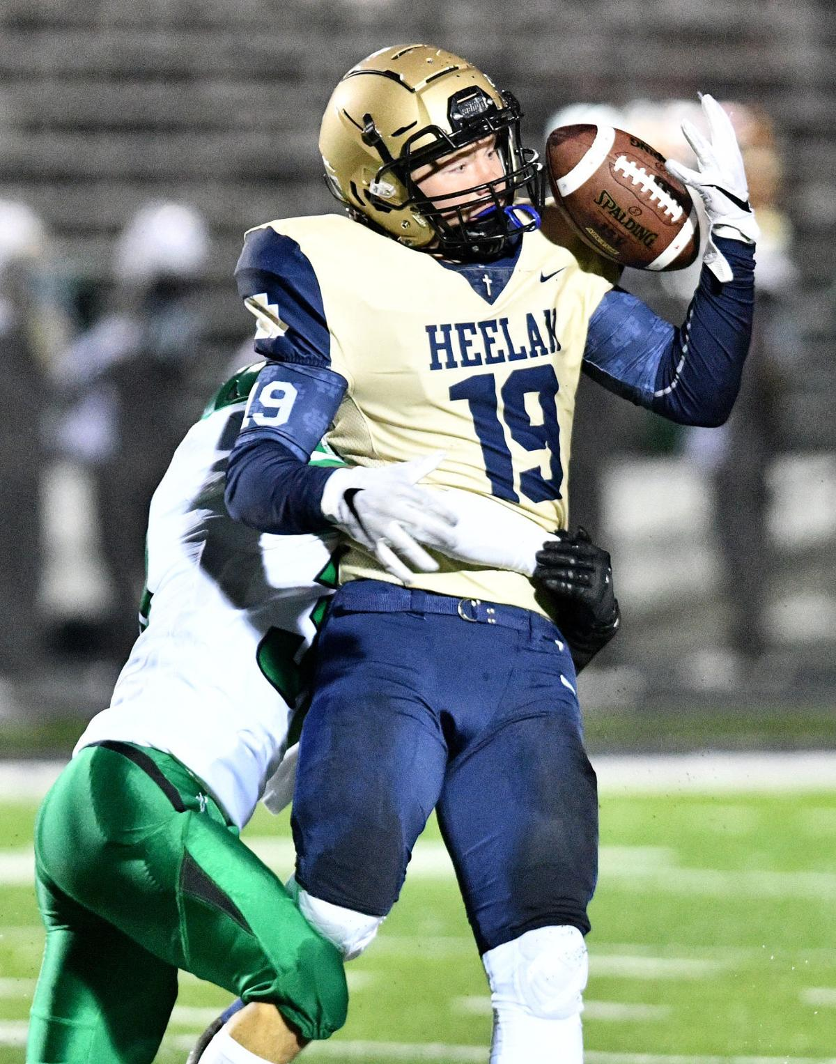 Heelan vs Storm Lake football