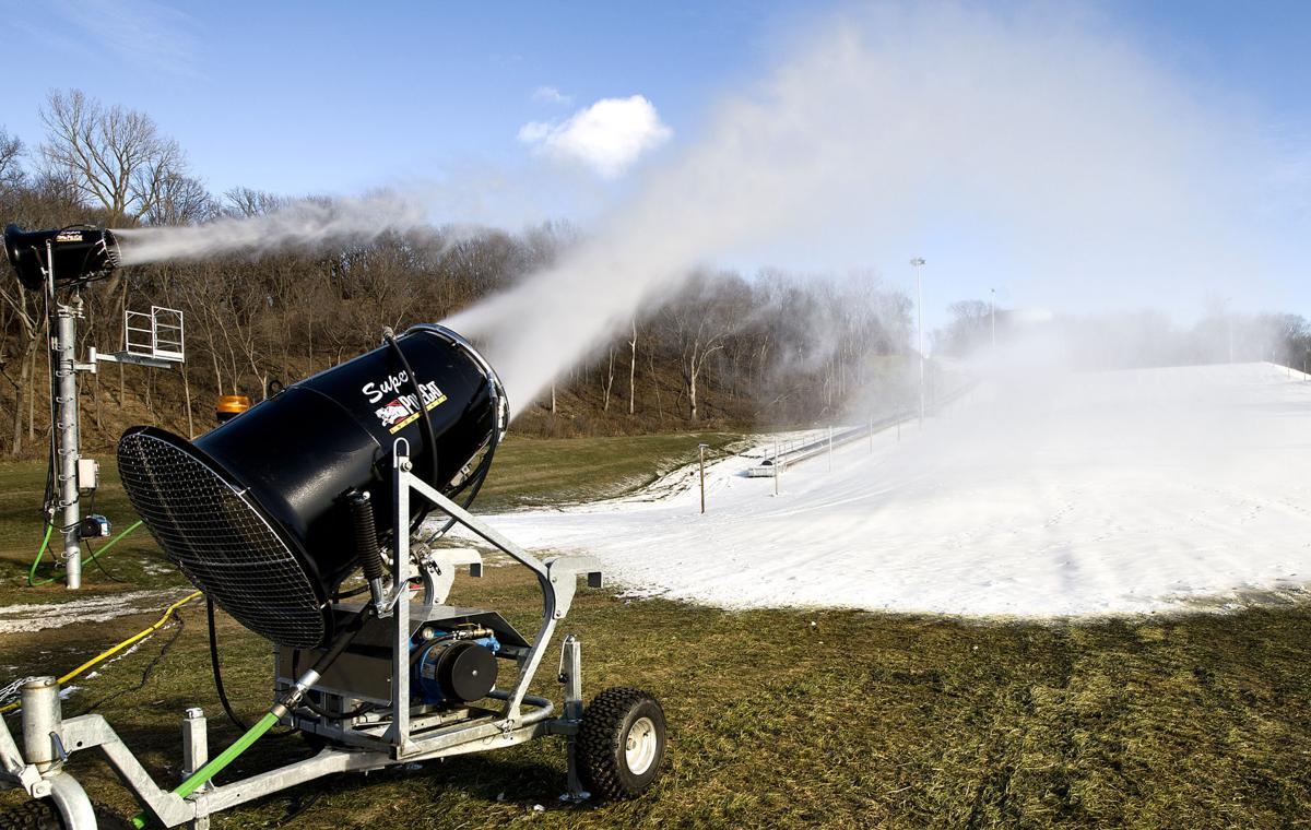 Cone Park snowmaking